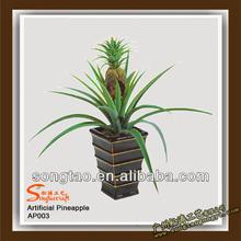 hot sale artificial Bonsai decoration, artificial pineapple