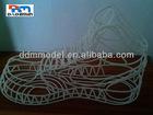 3D Printing SLA shoes model sample rapid prototyping service