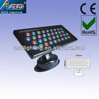 high power led 36*1/3w RGB outdoor waterproof wall light