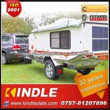 Kindle custom hard floor caravan camper trailer