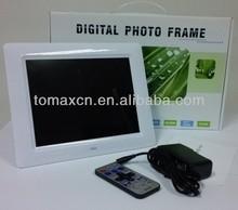 2014 wholesale Touch screen digital photo frame bulk cheap