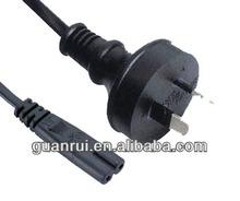 SAA plug to IEC(60)320 C7 power cord