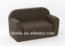 Multi Colours Kids Flip Open Foam Sofa Chair Cushion Bed