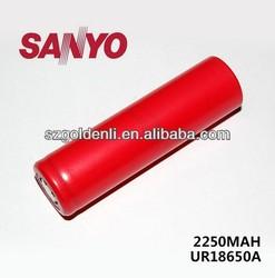 SANYO 100% original UR18650A 2250mah battery 100% original