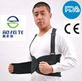 aofeite ad alta elasticità parte bassa della schiena cintura di sostegno lombare coppia alleviare il mal di schiena