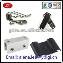 Custom factory metal spring clip/metal shelf clips/metal cabinet shelf clips