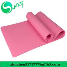 Latex free and Microfiber colorful TPE jute yoga mat