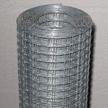 """0.71mm wire dia 3/8""""x3/8"""" hot dipped galvanized welded mesh"""