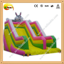 Cheap and fine inflatable dry slide adult inflatable slide
