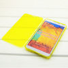 Low MOQ Manufacturer fancy tpu flip covers for Samsung galaxy note III 3 flip cover