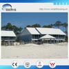 romantic wooden hurricane proof prefabricated beach bungalow