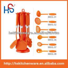 7-piese fashion design chinese nylon utensil set 8893L