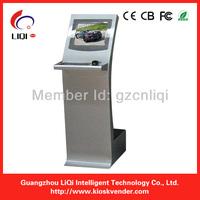19'' interactive advertising Touch Kiosks Machine