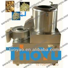2014 Salable Stainless steel Potato washing,peeling and cutting machine