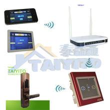 TYT zigbee Wireless network door lock, camera door lock