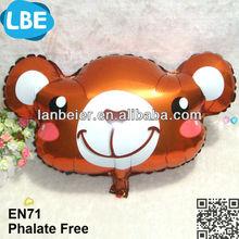 Hot inflatable shape, foil advertising balloon custom