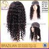 Wholesale Brazilian Virgin Human Kinky Curly Full Lace Stock Hair Wig