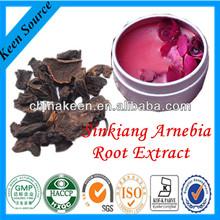 Hot sale shikonin Radix Arnebiae / Radix Lithospermi/ gromwell root extract