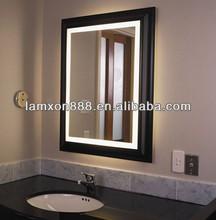 Bathroom lighting large wall mirror frame