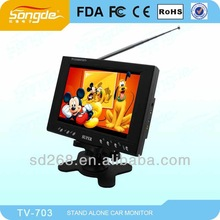 Bus/Taxi/Car Wide Screen LCD Advertising TV Display Monitor