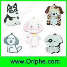 Dog Dolls Shape PVC Customized USB Flash Drive(UPVC0062)
