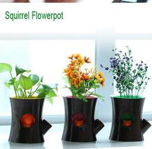 2014 uinque funny new indoor plastic flower pot trays