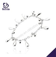 Extremely stylish fashion water drop shape anti-static bracelet