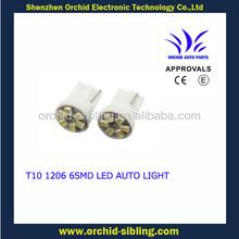 T10 1206 6smd led lights car 12v