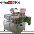 shanghai fournisseurs de purée de citrouille bocal automatique deux côtés machine à étiquettes