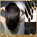 Sino extension de cheveux vierges cheveux brésiliens 6a 100% remy cheveux raides brésilienne gros