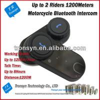 Bluetooth interphone 1000M Full-duplex wireless intercom for home