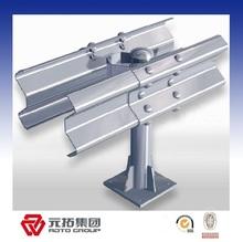 Hot galvanized/painted w beam aashto m180 guardrail made in China