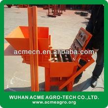 QMR2-40 clay block making machine price manual solid bricks machine with best price