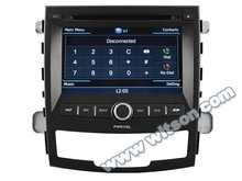 WITSON SSANGYONG CAR DVD KORANDO GPS PLAYER A8 Chipset Dual Chipset,3G modem / wifi/ DVR (Option)