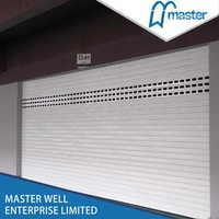 Operate electric automatic drive garage roller shutter