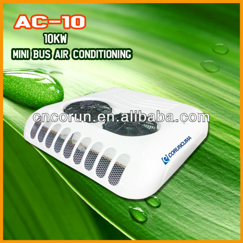 Hot Sale 12V/24V Roof Top Van Air Conditioner for Cooling 5.5~6m Van/miniBus AC10 With ECO Friendly R134a Refrigerant