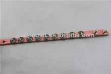Most beautiful metal studded personalized charm bracelets