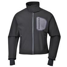 Hot sales mens fleece waterproof windbreaker jacket