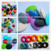 FDA Approved Loose Teething Beads For Jewelry Baby Chew Soft BPA Free Silicone Beads Wholesale
