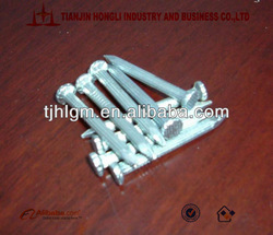 1''~6'' galvanized high tensile strength steel nails