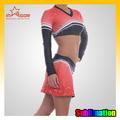 hembra de nuevo diseño del spandex manga larga vestido cheerleader