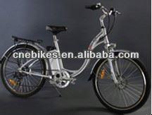 26'' lady city cheap electric pocket bike