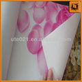 No tejido de papel pintado/fácil instalación que cubre la pared/la decoración del hogar de papel/barato papel pintado