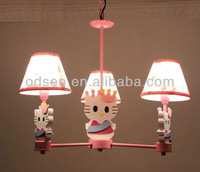 Decorative fabric hanging kids fairy lights