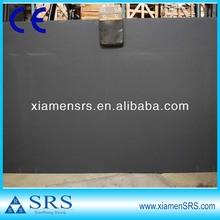 Beautiful honed black slate slabs