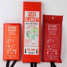 Thermal Emergency Rescue Fiberglass Fire Resistance Blanket