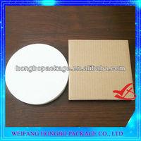 """10"""" corrugated proof white cake circle 100/case"""