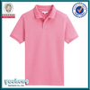 High quality OEM pink plain custom polo shirt wholesale