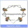 Fashion stainless steel murano bracelet