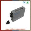 1 GE media converter fiber optic SM SC 20km